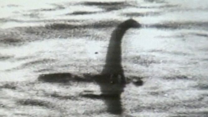 Zdjęcie z 1934 roku, które miało dowodzić istnienia Nessie (Reuters)