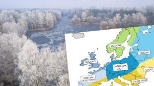 Amerykańska prognoza pogody na zimę. Co czeka Polskę?