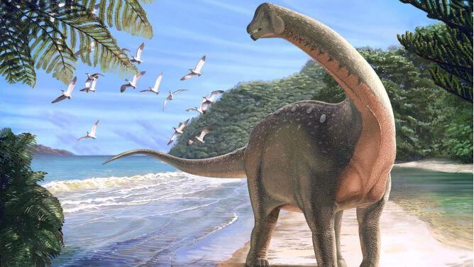 """""""Szczęka opadła mi na podłogę"""". <br />Dinozaur, który połączył dwa kontynenty"""