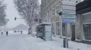 Największe opady śniegu w Madrycie od 50 lat
