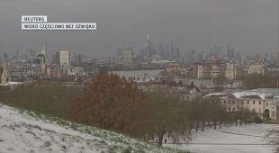 Z mrozem i śniegiem zmaga się cała Wielka Brytania